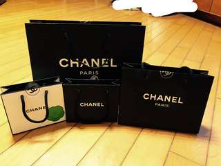 Luxury brand paper bag