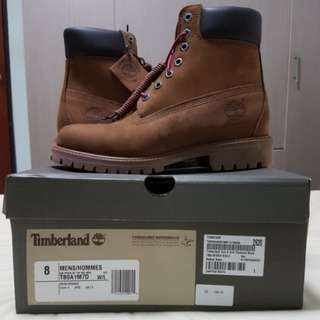 US 10! Authentic Timberland Leather Boots