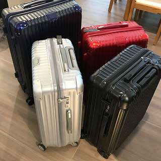 Matt Texture/Surface Multiwheel Luggage