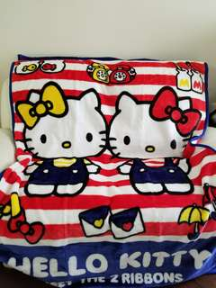 日本版Hello Kitty 毛毯