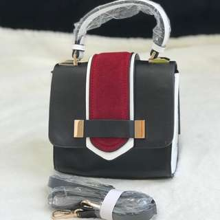Zara Black&Red Slingbag