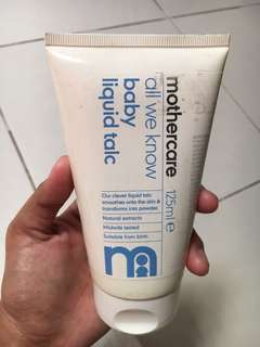Bedak liquid mothercare
