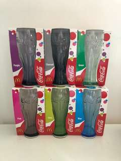 可口可樂杯一套6隻 Coca Cola glasses (6 pieces, box set)