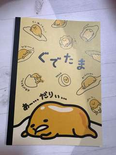 Gudetama Notebook