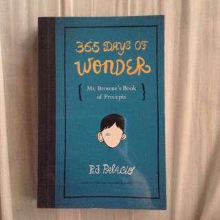365 Days of Wonder by R.J Palacio