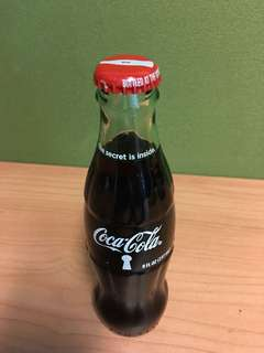 Coca Cola 237ml USA Atlanta glass bottle