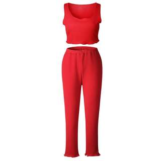 [INSTOCK x1] Red Jersey Pants