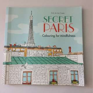 🗼Secret Paris Coloring Book