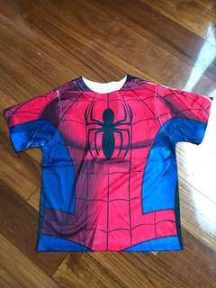 Marvel Spider-Man 4yrs quick dry t shirt