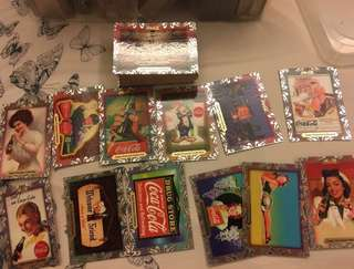 Coca Cola cards set of 60