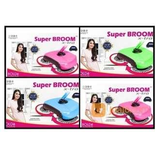 Super Broom Xtra BOLDe Pembersih Lantai Rumah Praktis