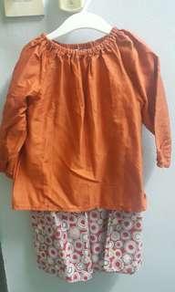 Girl's Dress and Baju Kurung