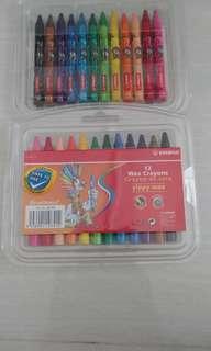 Stabilo 12 Wax Crayons