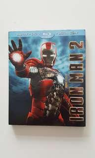 Iron Man 2 (Original) Blu-Ray with Digital Copy