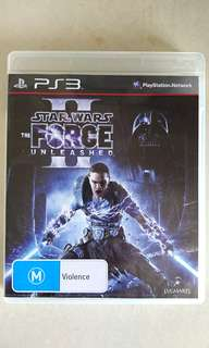 Star Wars Force Unleased 2 for PS3