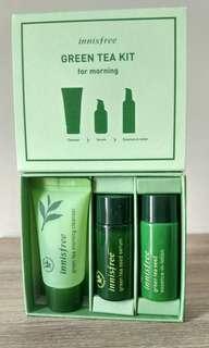 Innisfree Green Tea Kit for Morning (Travel Size)