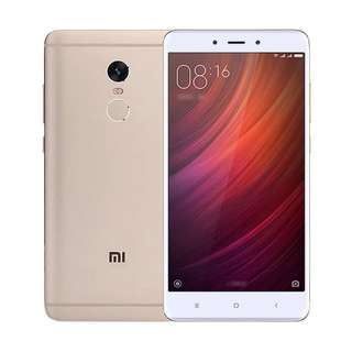 Xiaomi Redmi Note 4 3/32GB Gold Garansi TAM