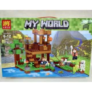 Shop : LELE MY WORLD 33095 RIVER VILLAGE LEGO BUILDING BLOCKS TOYS