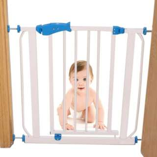 maximum 105 cm Safety Gate for Children + 1 Extension Gate