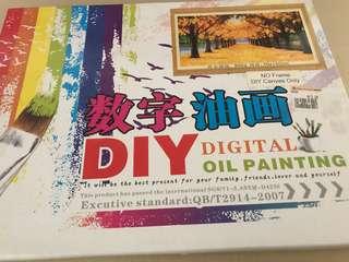 DIY Digital Oil Painting