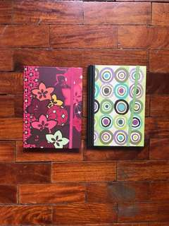 Twin Floral Journal Notebooks (PHP70 for both)