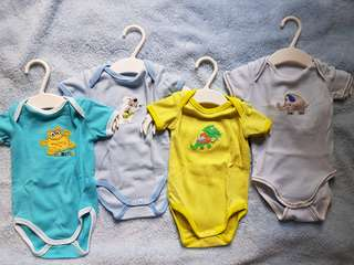 Baby Rompers (Set of 4)
