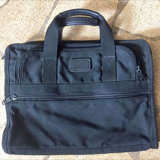 Tumi Briefcase/ laptop bag  with 3 zipper compartments