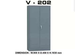 Lemari besi pintu buka atau filling cabinet swing doors