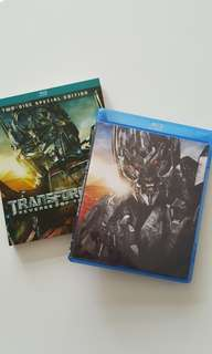 Transformers ( Revence of the Falle) Blu-Ray-2 Disc Edition (Original)