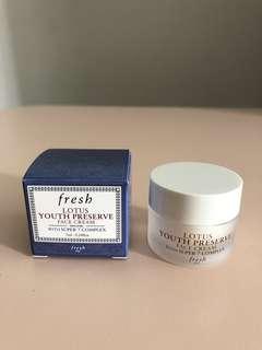 Fresh Lotus Youth Preserve Face Cream 7ml