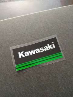 Kawasaki Motorbike Top Quality Decal Sticker