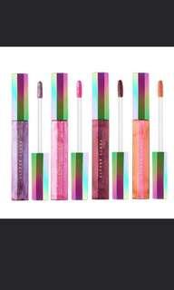 Fenty Beauty cosmic lip gloss glitter