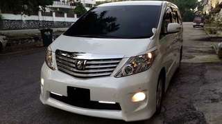 TOYOTA ALPHARD FOR RENT