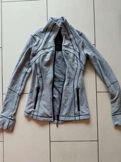 Fitted Grey Lululemon Jacket