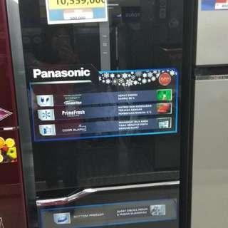 Panasonic NR-BV328GKID/BL DP 0% Cukup Admin 199.000 Tanpa Kartu Kredit