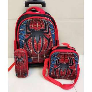 Spider-man 3-in-1 School Bag