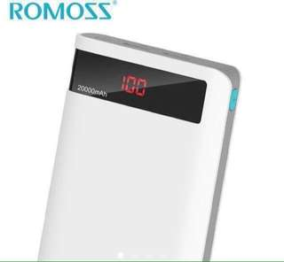 Original Romoss 20000 mah Powerbank