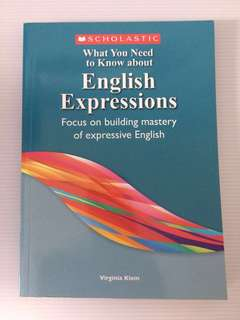 Scholastic English Expressions
