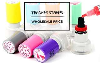 Assorted Teacher Stamps