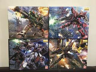 MG Gundam Seed ZAFT Bundle