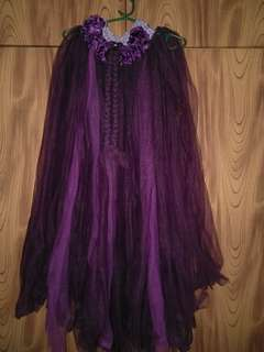 Tutu dress violet