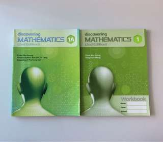 🔢 Discovering Mathematics Text & Workbook (Sec 1)