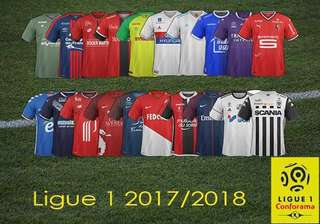 ❗️SALE❗️All 17-18 French Ligue 1 Home/Away/Third Jersey