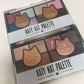 Covergirl Katy Kat eyeshadow palettes by Katy Perry