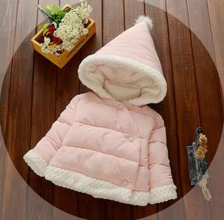 Brand New pink winter clothing with hoodie