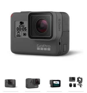GoPro Hero 5 Black - Open to test. Added screen protector once unbox.