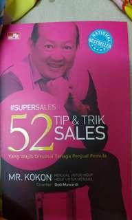 Buku SuperSales 52 Tip & Trik Sales Kokon Marketing