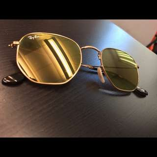 rayban Sunglasses rb3548 hexagonal ray ban brand new full packages original made in Italy discount