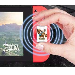 Amiibo Card one set of 22 cards, Legend of Zelda, Nintendo Switch