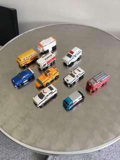 Bandai Mc Donalds VooV flipping cars